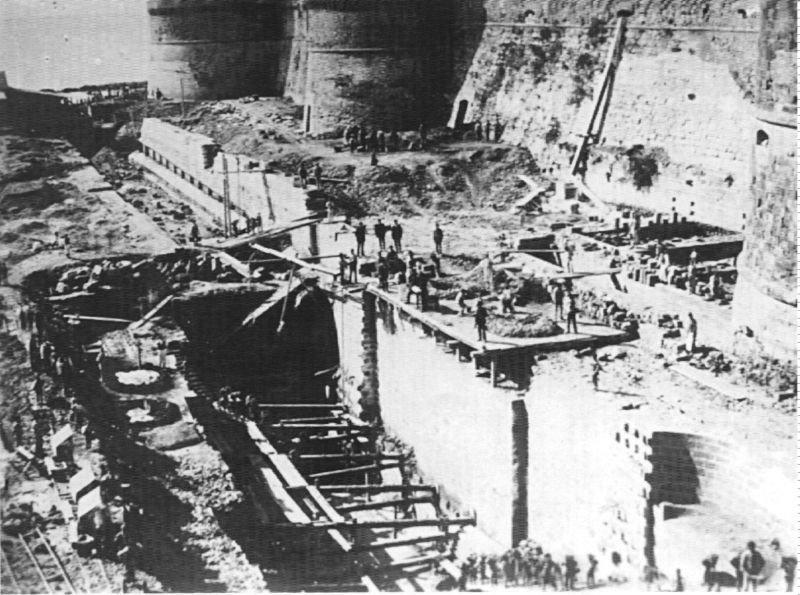 0014 Lavori Per Il Canale Navigabile-1885