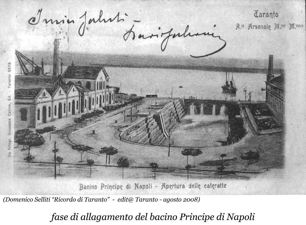 0050 Regio Arsenale Bacino Principe Di Napoli-Apertura Cateratte