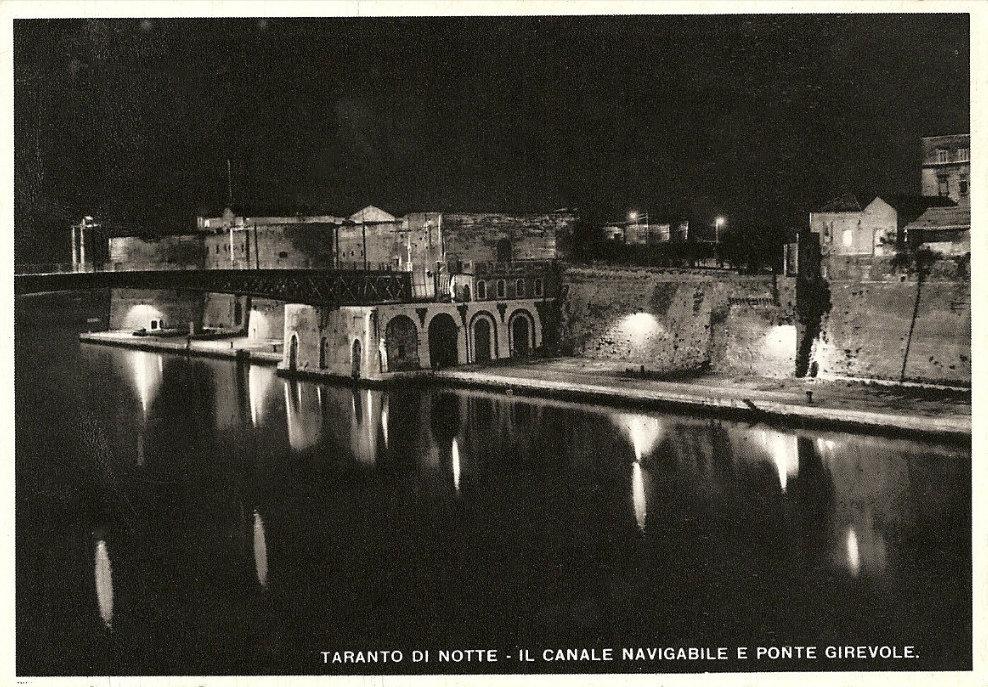 0053 Canale Navigabile-Ponte Girevole- Notturno