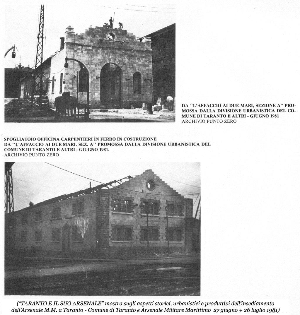 0061 Arsenale M.M.-Spogliatoio Carpentieri In Ferro-Due Vedute