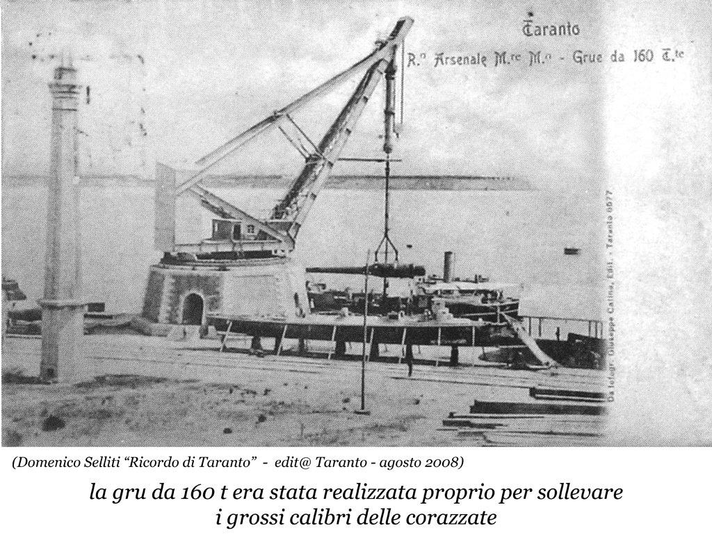 0066 Regio Arsenale Grande Grue Da 160 Tn.-1901