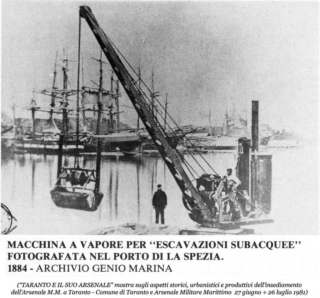 0083 Macchina A Vapore Escavazioni Subacquee