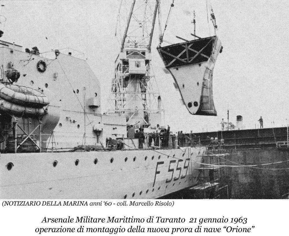 0104 Nave Orione-Montaggio Prora