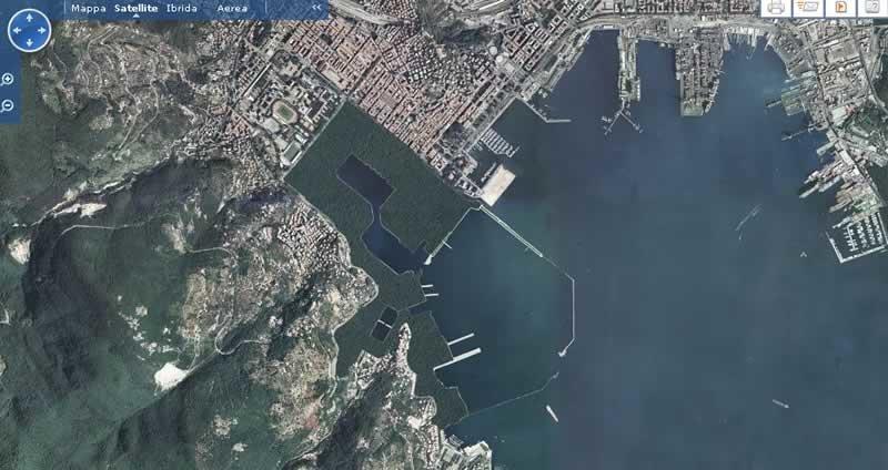 0120 Veduta Satellitare Arsenale-a