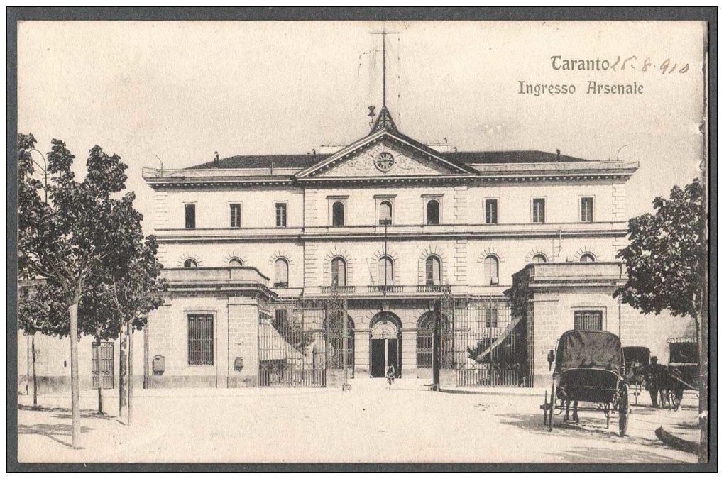0135 Arsenale M.M.Edificio D\'ingresso-1910