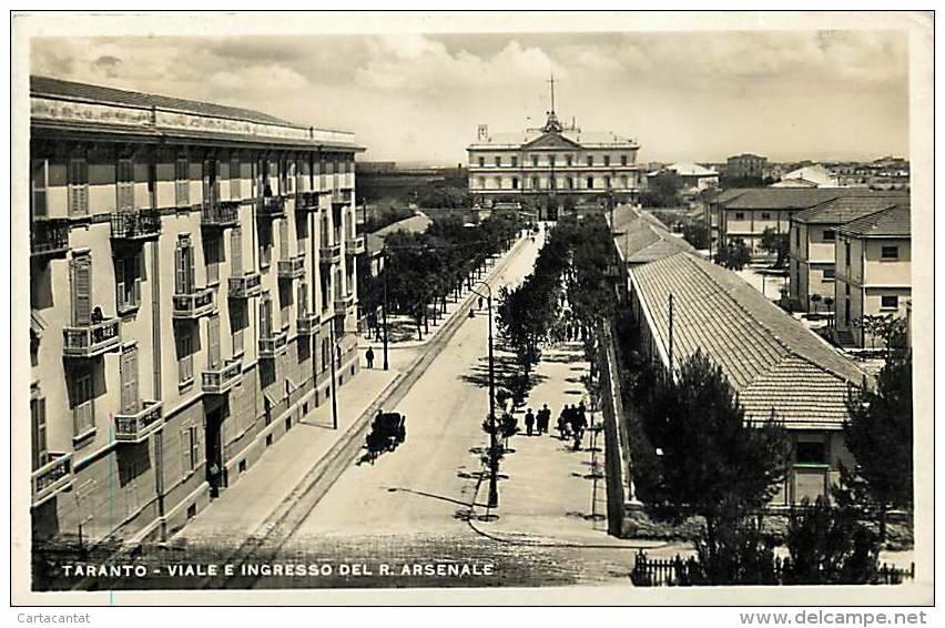 0153 Viale E Ingresso Del R.Arsenale- 1934
