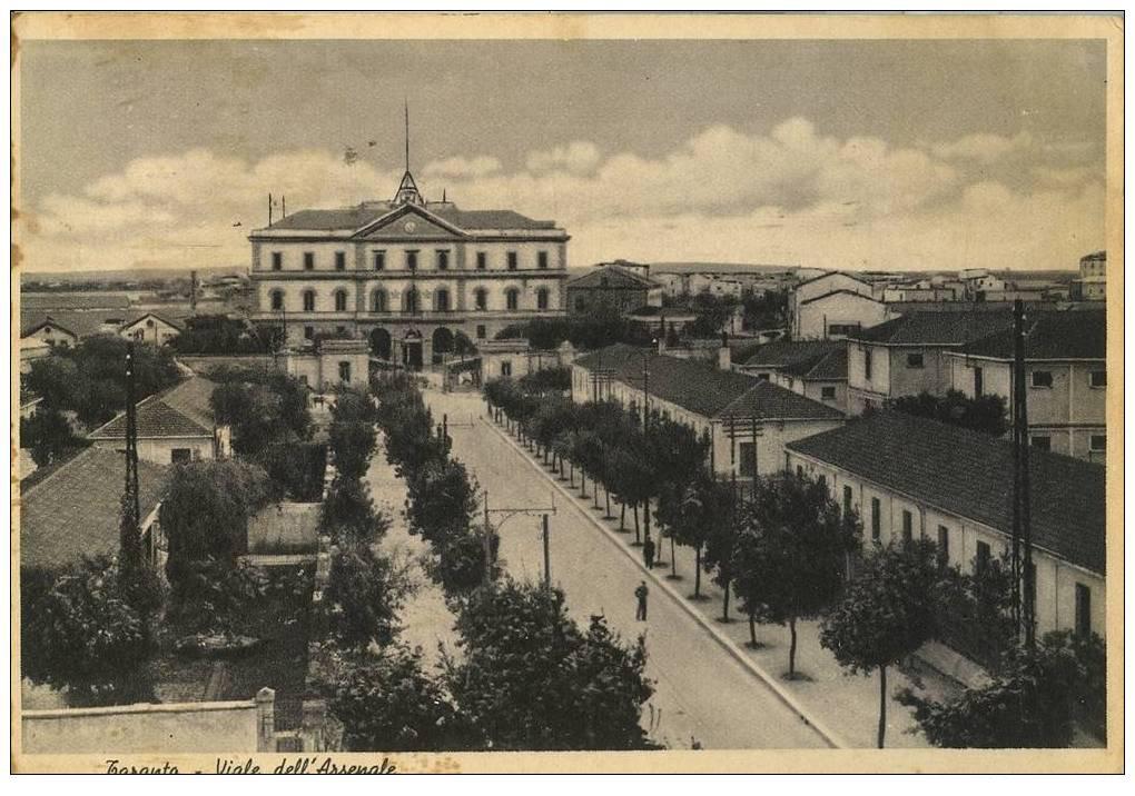 0170 Arsenale M.M.-Viale Visto Dall\'alto-1939