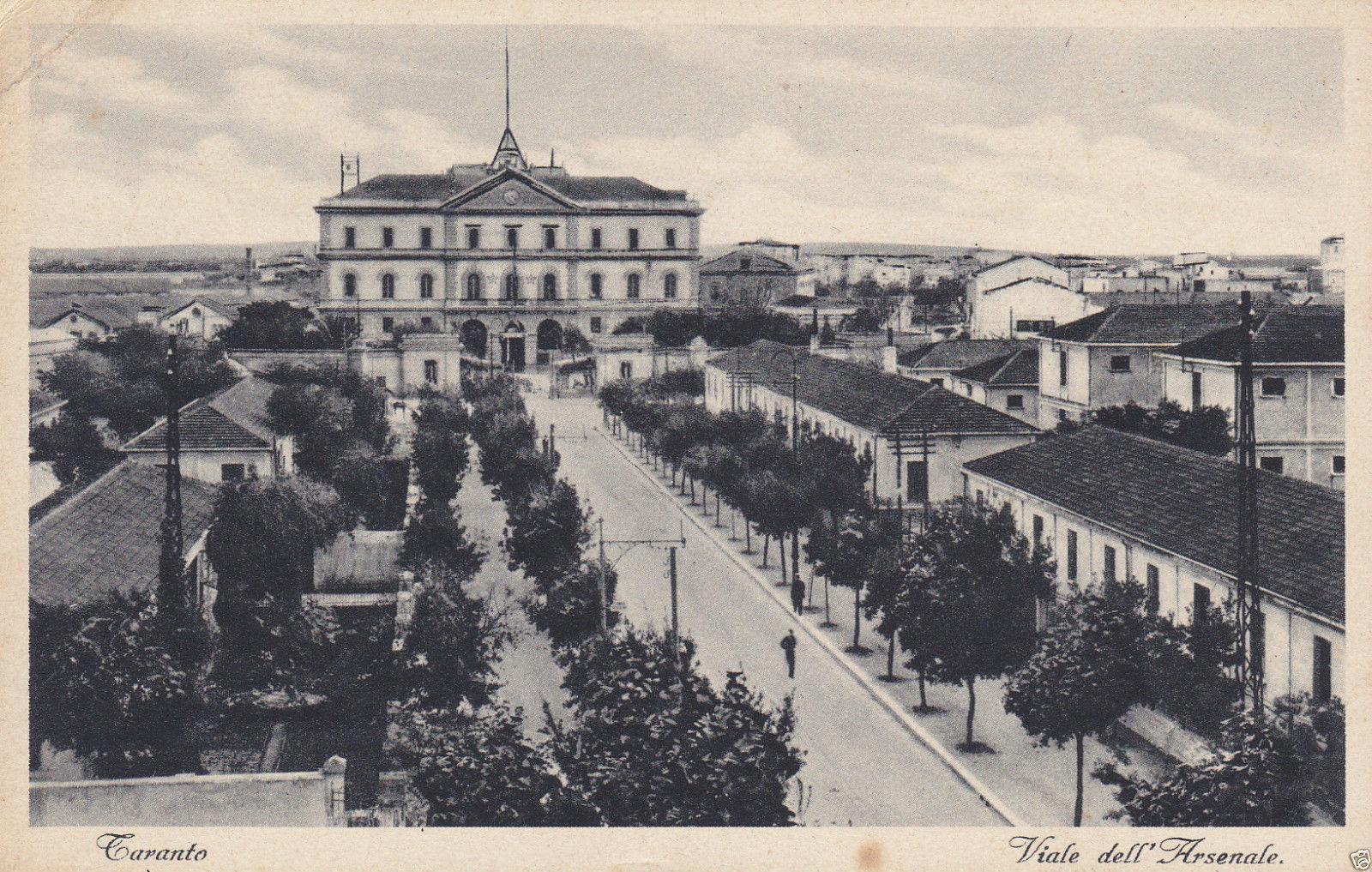 0173 Arsenale M.M.-Viale Visto Dall\'alto-1939