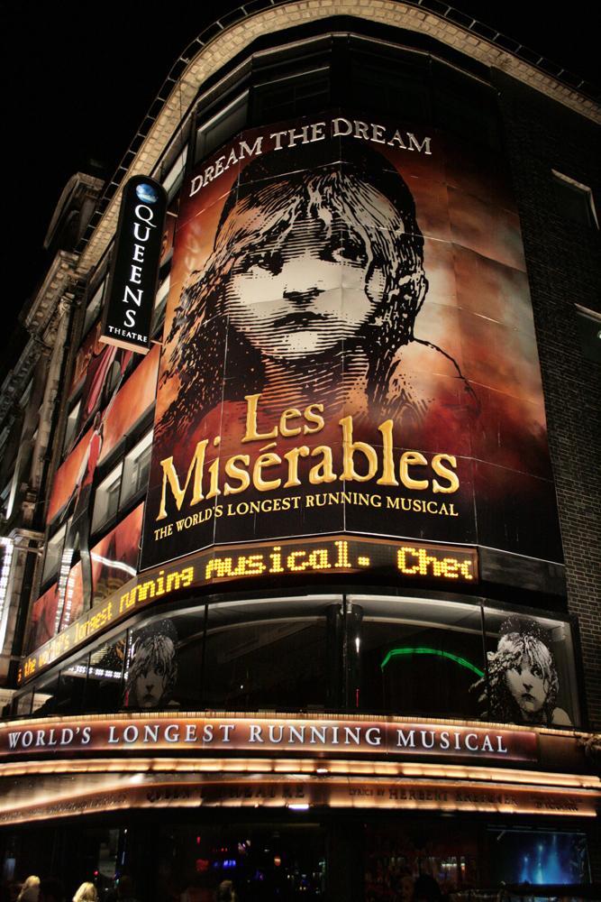 108 Theatre. Les Miserables. 09.12.2012