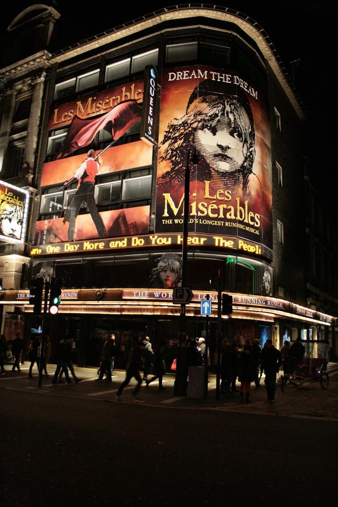 109 Theatre. Les Miserables. 09.12.2012