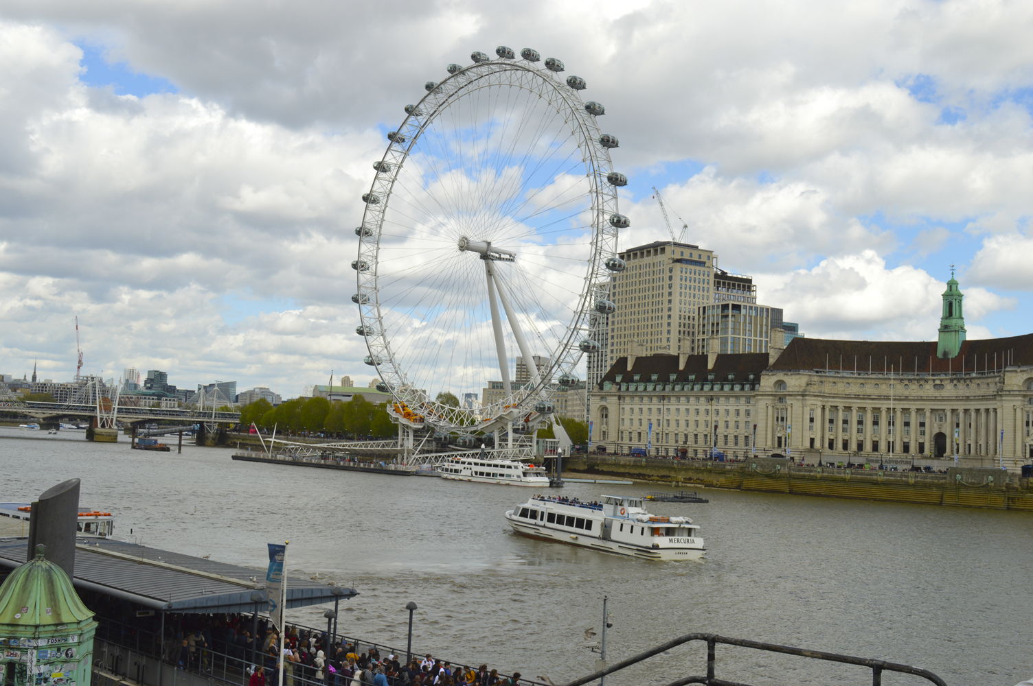 112 London Eye. 26.04.2019