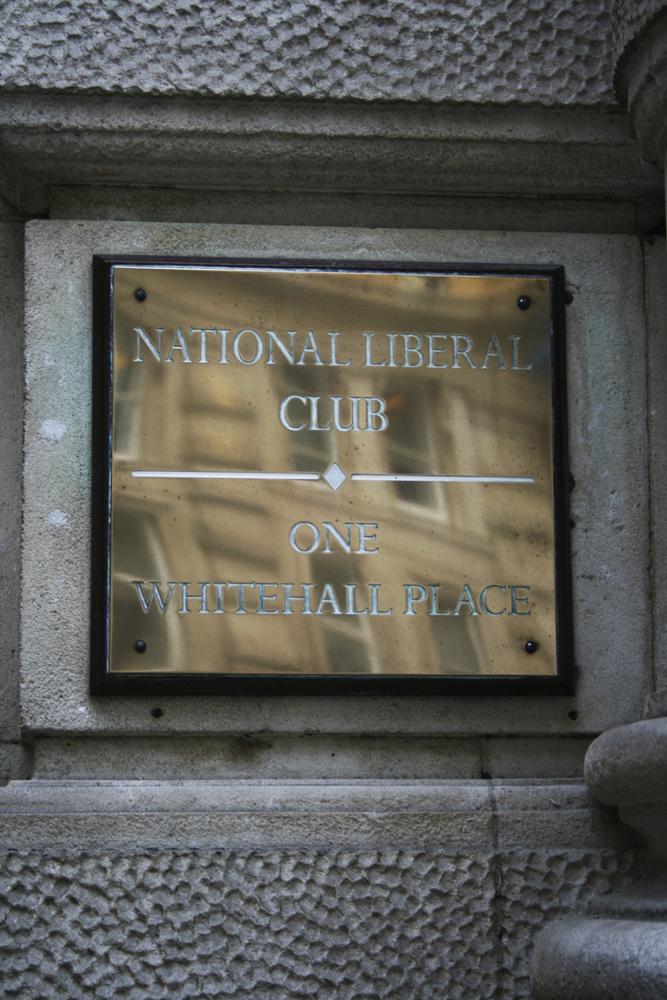 168 National Liberal Club (in Trafalgar Square Area). 03.03.2011
