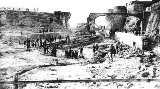 0008 Alluvione Nel Fossato-1883