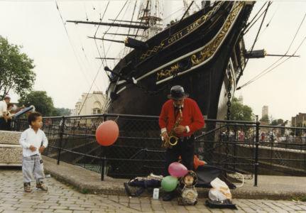 001 Greenwich. Cutty Sark. August 1991