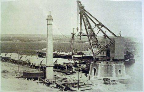 0054 Regio Arsenale Grande Grue Da 160 Tonnellate-1894