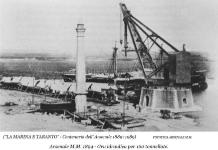 0055 Regio Arsenale Grande Grue Da 160 Tonnellate-1894