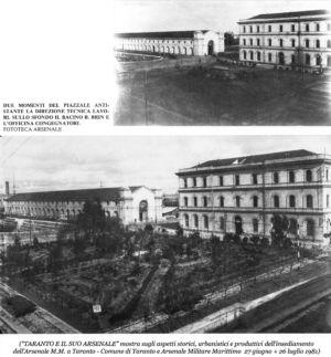 0062 Arsenale M.M.-Piazzale-Due Vedute