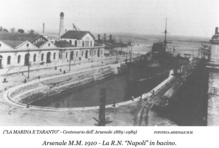 0067 Regio Arsenale-Bacino Principe Di Napoli-1910