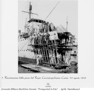 0075 RCT Carini-Ricostruzione Prora -30.08.1918