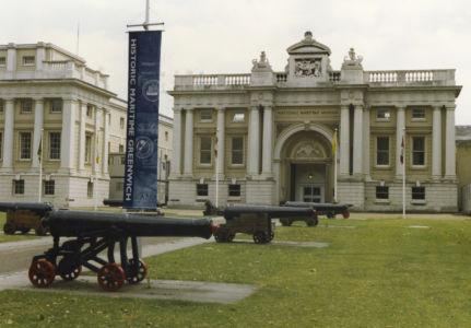 008 Greenwich. National Maritime Museum. August 1991