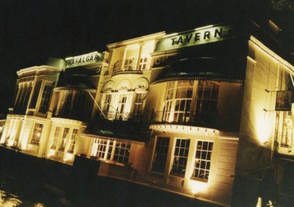 012 Greenwich. Trafalgar Tavern. August 1991