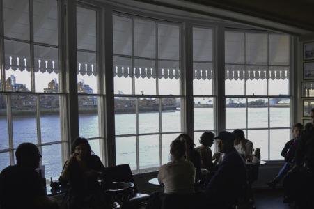 013 Greenwich. Inside Trafalgar Tavern. 26.09.2015