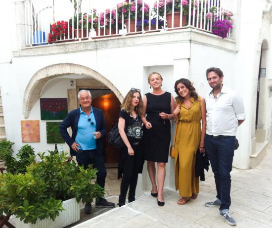 Isabelle Sirelius: astrattismo pittorico, tra Scandinavia e Puglia