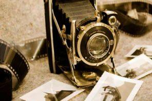 foto d'autore - vecchia camera fotografica
