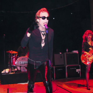 the cramps on stage