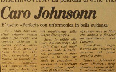03.05.1983 La poltrona di The The