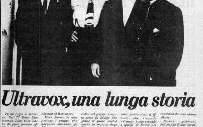 22.04.1983. Ultravox, una lunga storia