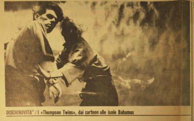 23.04.1983. I Thompson Twins, dai cartoon alle isole Bahamas