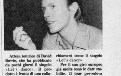 1983. David Bowie